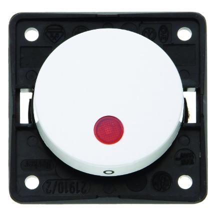 berker 937622539 kontroll wippschalter 2 polig 12 v polarwei gl nzend online kaufen im voltus. Black Bedroom Furniture Sets. Home Design Ideas