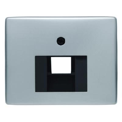 berker 14080004 abdeckung f r isdn und netzwerkdose 1fach. Black Bedroom Furniture Sets. Home Design Ideas