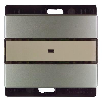 berker 27219004 funk wandsender 1fach edelstahl lackiert. Black Bedroom Furniture Sets. Home Design Ideas