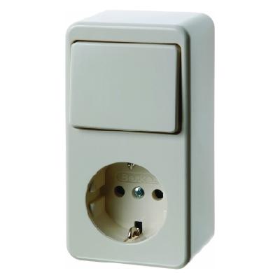 berker 479640 kombination wippschalter schuko steckdose. Black Bedroom Furniture Sets. Home Design Ideas