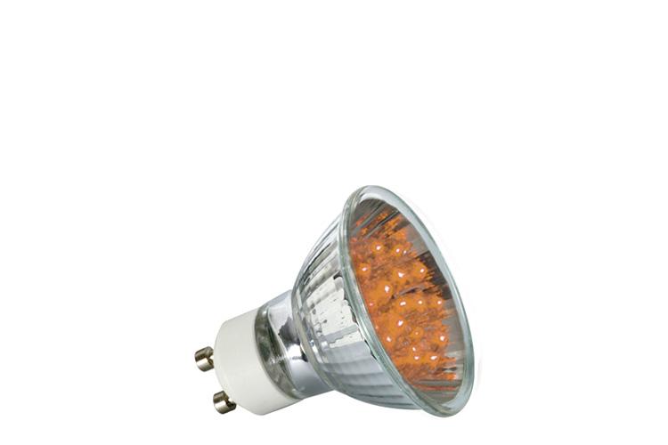 paulmann led reflektor 1w gu10 230v 51mm orange online kaufen im voltus elektro shop. Black Bedroom Furniture Sets. Home Design Ideas