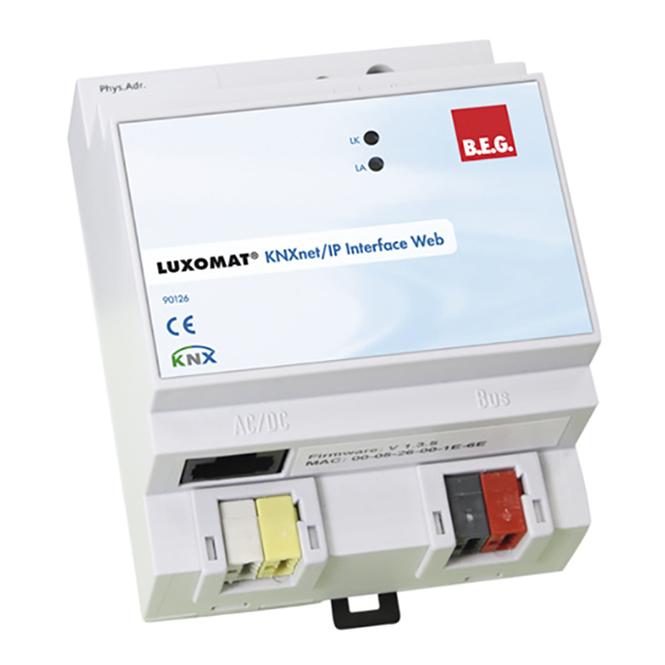 B.E.G. 90126 KNXnet/IP-Interface Web LUXOMATnet online kaufen im Voltus Elektro Shop