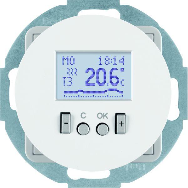 berker 20452079 temperaturregler mit zentralst ck. Black Bedroom Furniture Sets. Home Design Ideas