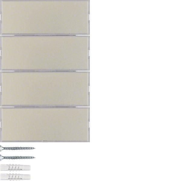 berker 75164373 tastsensor 4fach online kaufen im voltus. Black Bedroom Furniture Sets. Home Design Ideas