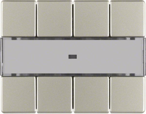 berker 75164643 tastsensor 4fach komfort edelstahl. Black Bedroom Furniture Sets. Home Design Ideas