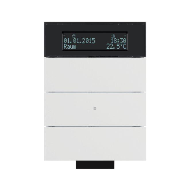 berker 75663699 b iq ir tastsensor 3fach mit temperaturregler polarwei matt online kaufen im. Black Bedroom Furniture Sets. Home Design Ideas