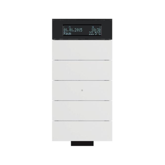 berker 75665699 b iq ir tastsensor 5fach mit temperaturregler polarwei matt online kaufen im. Black Bedroom Furniture Sets. Home Design Ideas