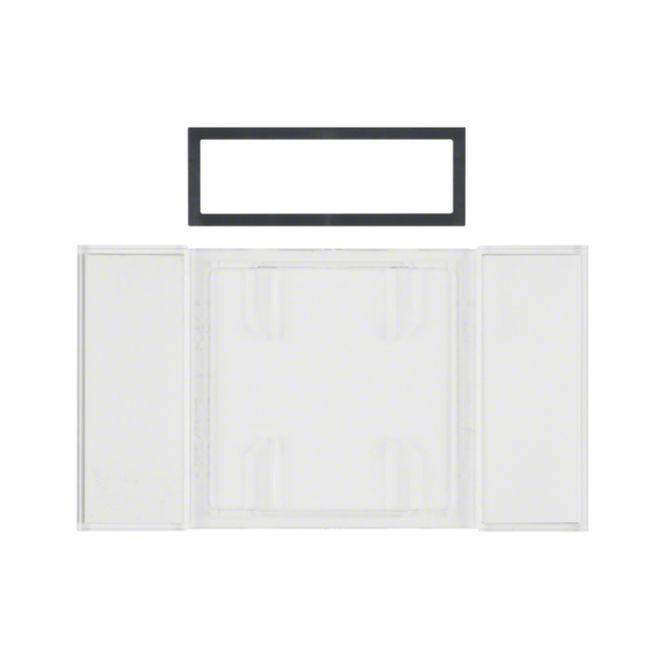 berker 75900080 b iq beschriftungsfeld f r tastsensoren 1 3fach online kaufen im voltus elektro shop. Black Bedroom Furniture Sets. Home Design Ideas