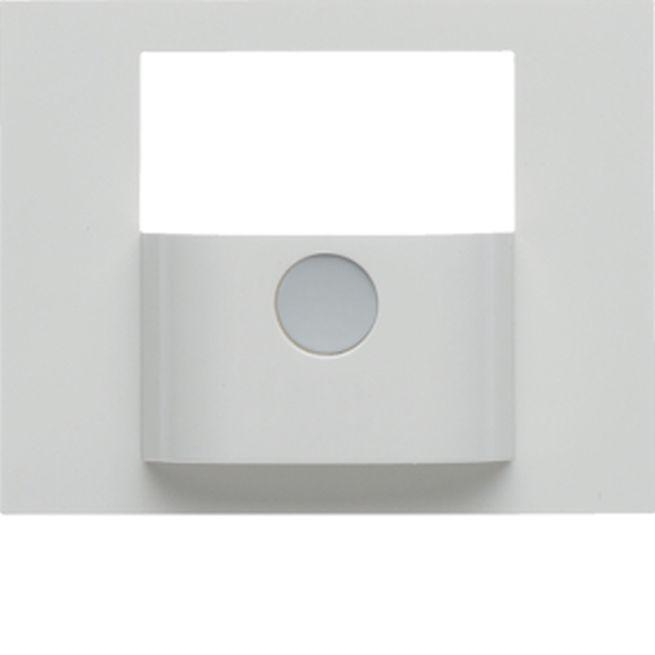 berker 80960479 abdeckung f r knx bewegungsmelder modul k 1 k 5 polarwei gl nzend online. Black Bedroom Furniture Sets. Home Design Ideas