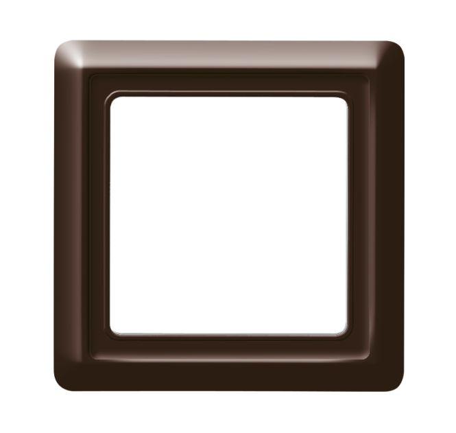 busch jaeger 2101 31 allwetter 44 abdeckrahmen braun 1 fach online kaufen im voltus elektro shop. Black Bedroom Furniture Sets. Home Design Ideas