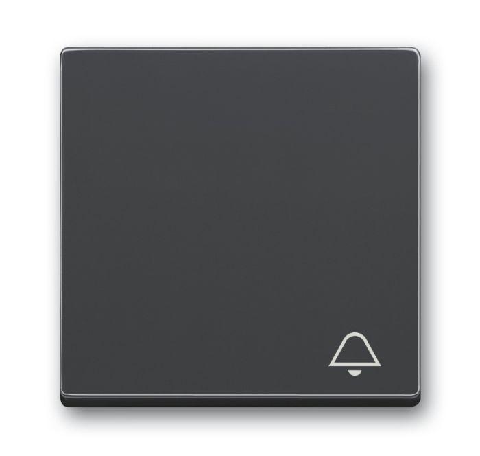 busch jaeger 2520 ki 81 wippe mit aufdruck symbol klingel anthrazit online kaufen im voltus. Black Bedroom Furniture Sets. Home Design Ideas