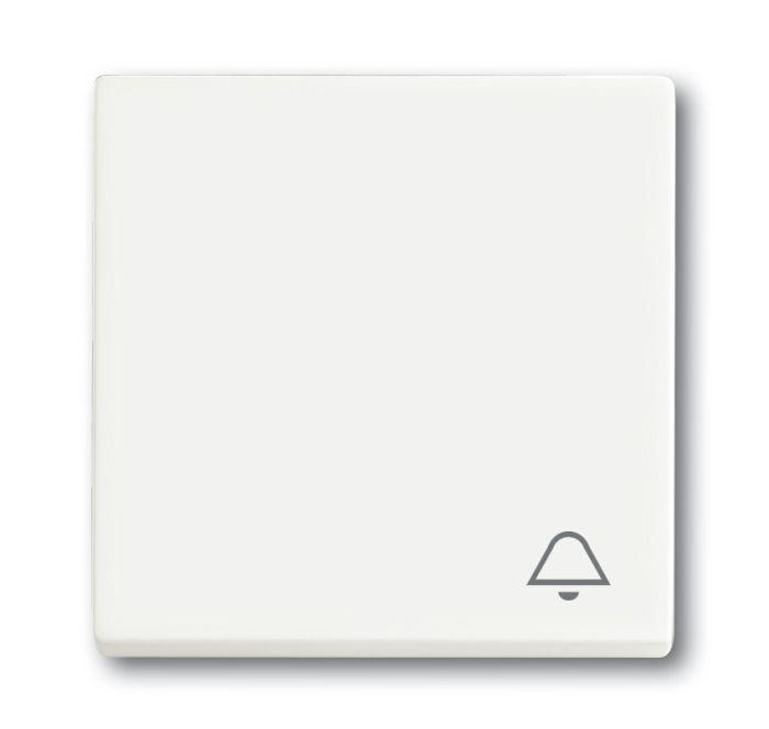 busch jaeger 2520 ki 884 wippe mit aufdruck symbol klingel studiowei matt online kaufen im. Black Bedroom Furniture Sets. Home Design Ideas