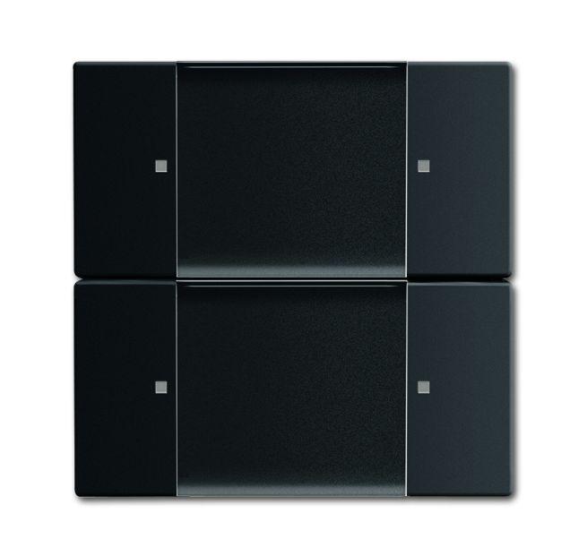 busch jaeger 6736 01 885 wandsender zigbee light link 2. Black Bedroom Furniture Sets. Home Design Ideas