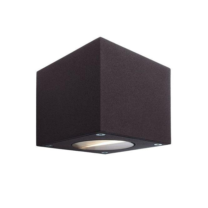 deko light 730328 kapegoled outdoor wandleuchte cubodo a 5w 3000k 270lm anthrazit online kaufen. Black Bedroom Furniture Sets. Home Design Ideas