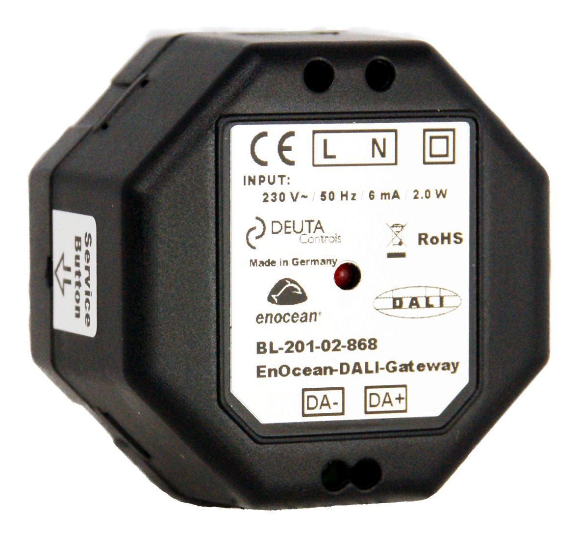 DEUTA Controls 10985 BL-201-02-868 EnOcean-DALI-Controller ...