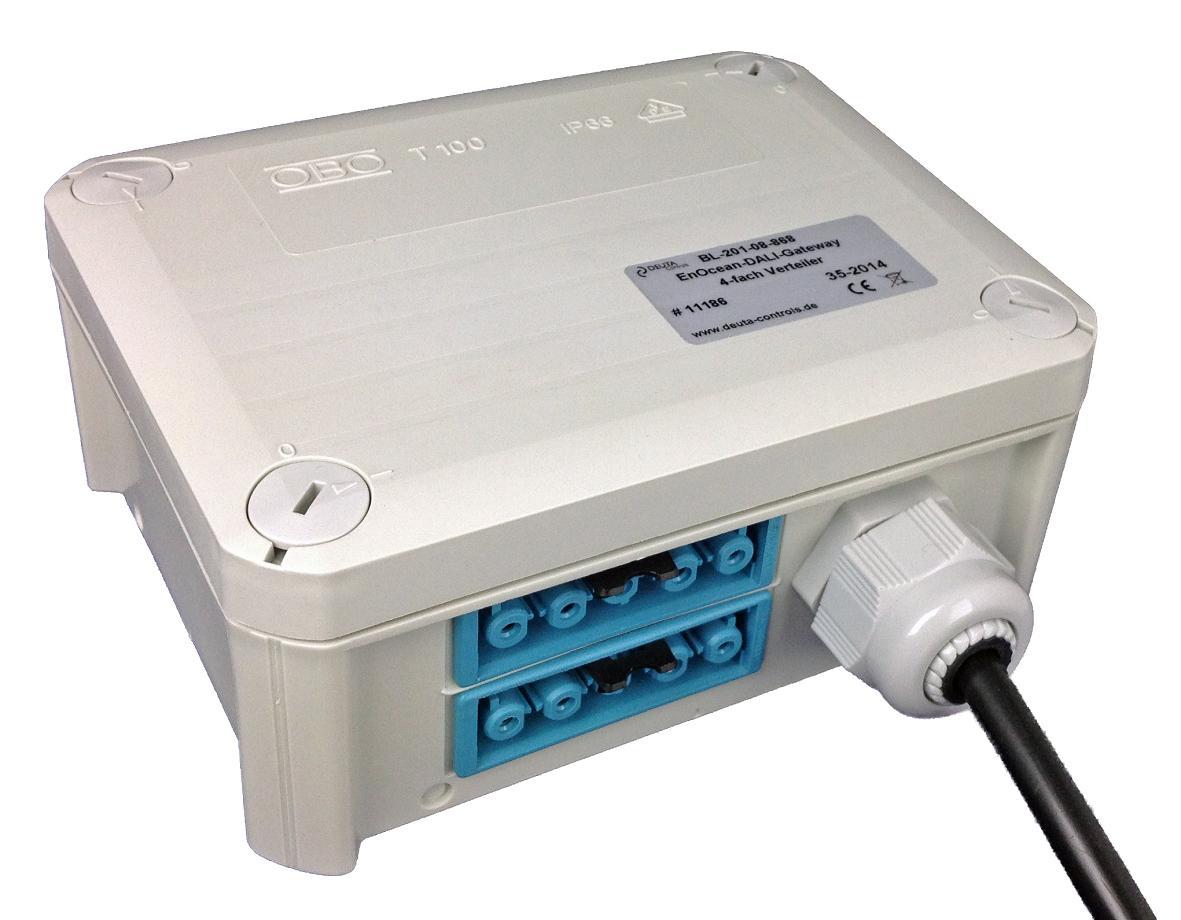 DEUTA Controls 11103 BL-201-09-868 EnOcean-DALI-Controller ...