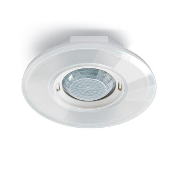 esylux ep10451720 pd flat 360i 8 glass round white knx pr senzmelder wei online kaufen im. Black Bedroom Furniture Sets. Home Design Ideas