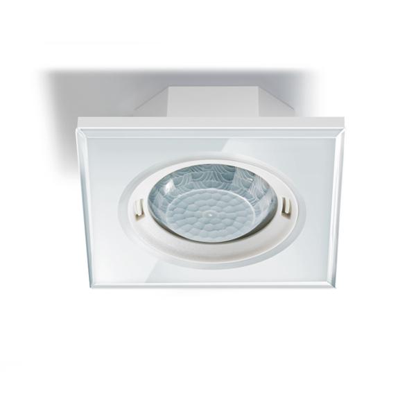esylux ep10451737 pd flat 360i 8 glass squared white knx pr senzmelder wei online kaufen im. Black Bedroom Furniture Sets. Home Design Ideas