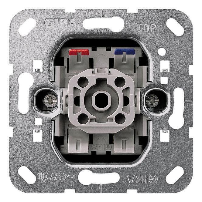 gira 011600 einsatz wippkontrollschalter 10 ax 250 v mit. Black Bedroom Furniture Sets. Home Design Ideas