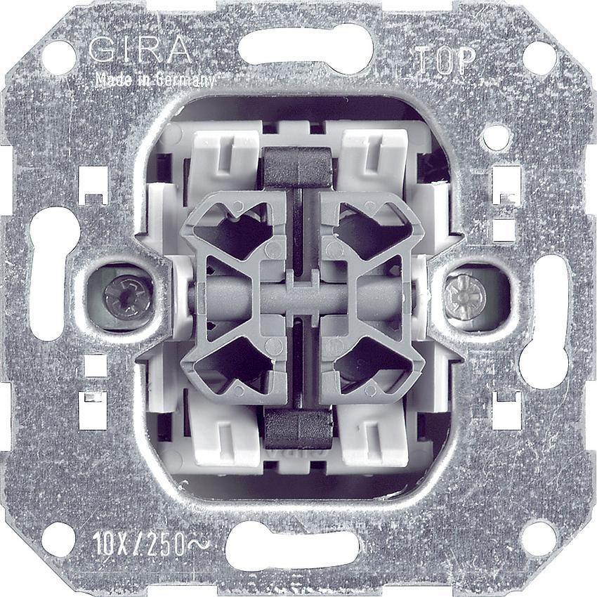 gira 014700 wipptaster einsatz 4fach f r tiefe. Black Bedroom Furniture Sets. Home Design Ideas