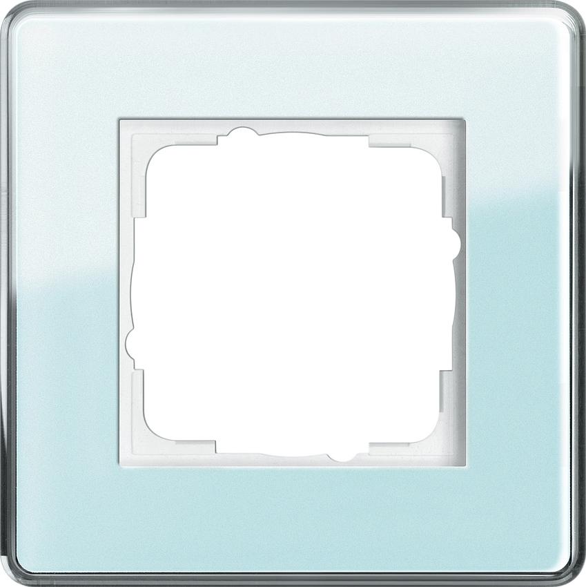 gira 0211518 esprit abdeckrahmen mint glas c 1 fach online. Black Bedroom Furniture Sets. Home Design Ideas
