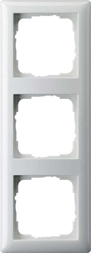 gira 021303 abdeckrahmen standard 55 reinwei gl nzend 3. Black Bedroom Furniture Sets. Home Design Ideas