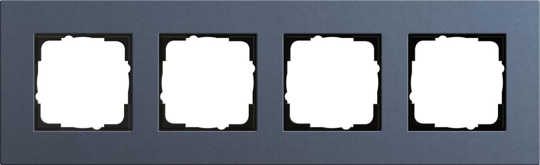 gira 0214227 esprit abdeckrahmen linoleum multiplex blau 4. Black Bedroom Furniture Sets. Home Design Ideas