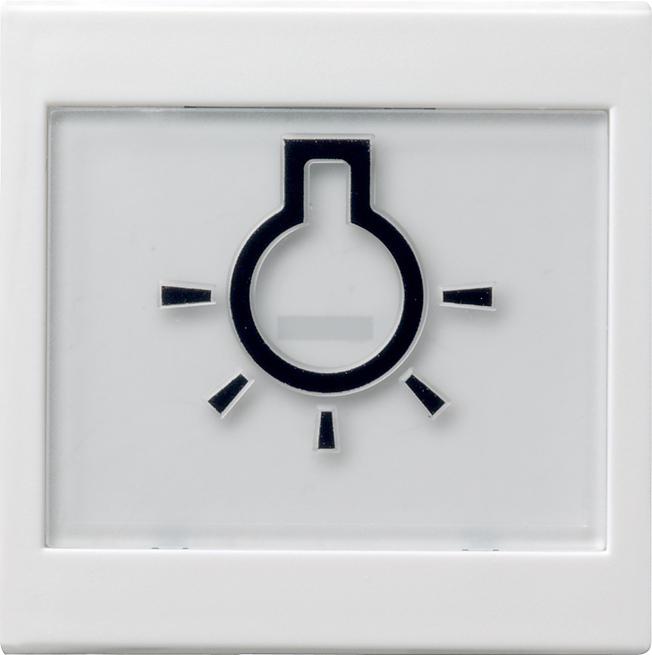 GIRA 021603 Wippe mit Beschriftungsfeld und abtastbarem Symbol ...