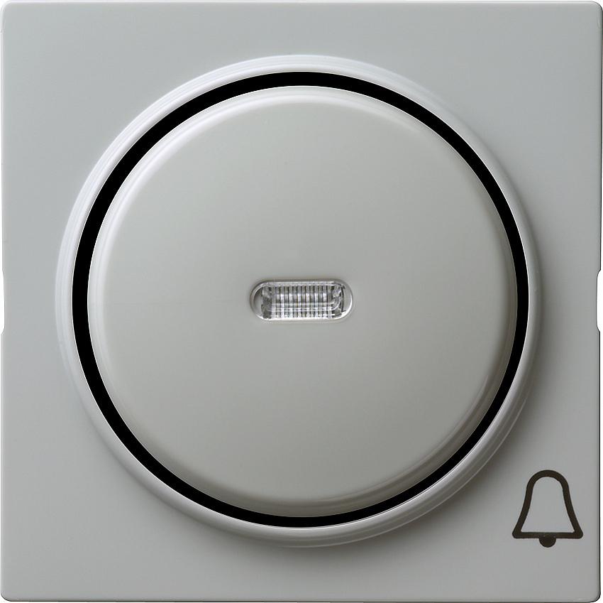 gira 028642 kontrollwippe mit symbol klingel grau online kaufen im voltus elektro shop. Black Bedroom Furniture Sets. Home Design Ideas