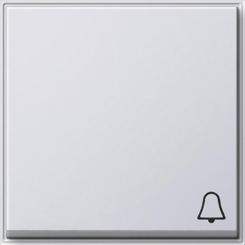 gira 028666 wippe mit symbol klingel reinwei online kaufen im voltus elektro shop. Black Bedroom Furniture Sets. Home Design Ideas