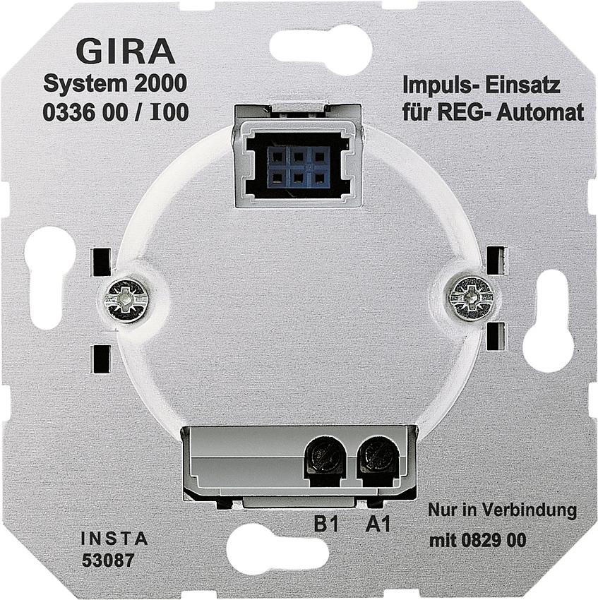 gira 033600 system 2000 impuls einsatz online kaufen im. Black Bedroom Furniture Sets. Home Design Ideas