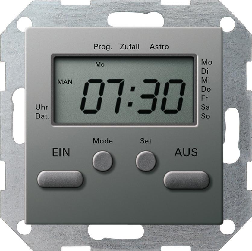 gira 038520 elektronische zeitschaltuhr 230v online kaufen im voltus elektro shop. Black Bedroom Furniture Sets. Home Design Ideas