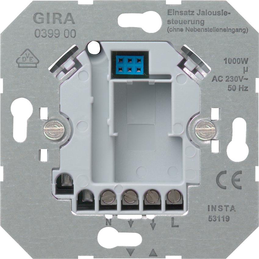 gira 039900 einsatz jalousiesteuerung 230 v ohne. Black Bedroom Furniture Sets. Home Design Ideas