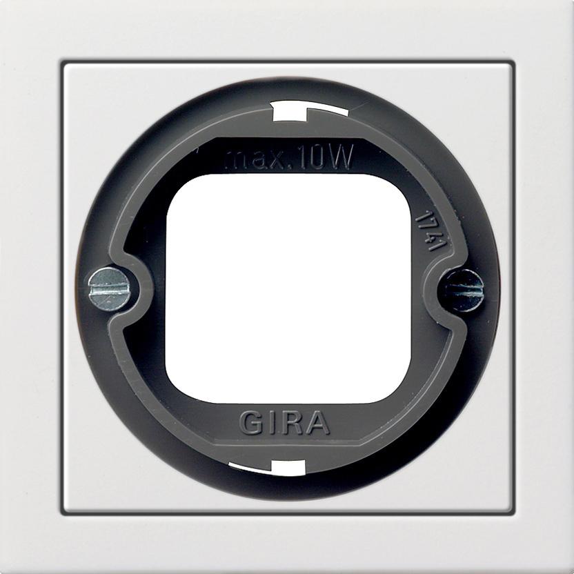 gira 0659112 abdeckung mit bajonettverschluss f r lichtsignal online kaufen im voltus elektro shop. Black Bedroom Furniture Sets. Home Design Ideas