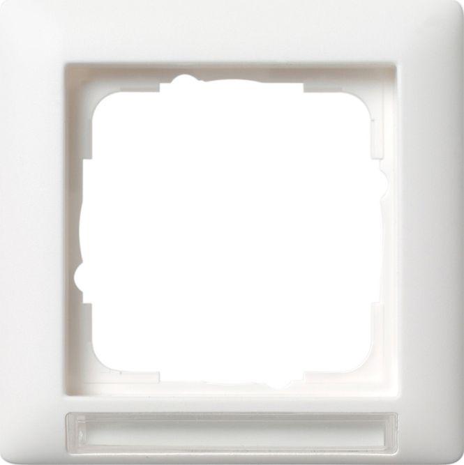gira 109127 abdeckrahmen standard 55 beschriftungsfeld. Black Bedroom Furniture Sets. Home Design Ideas