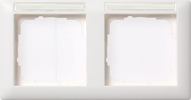 gira 109203 abdeckrahmen standard 55 mit beschriftungsfeld. Black Bedroom Furniture Sets. Home Design Ideas