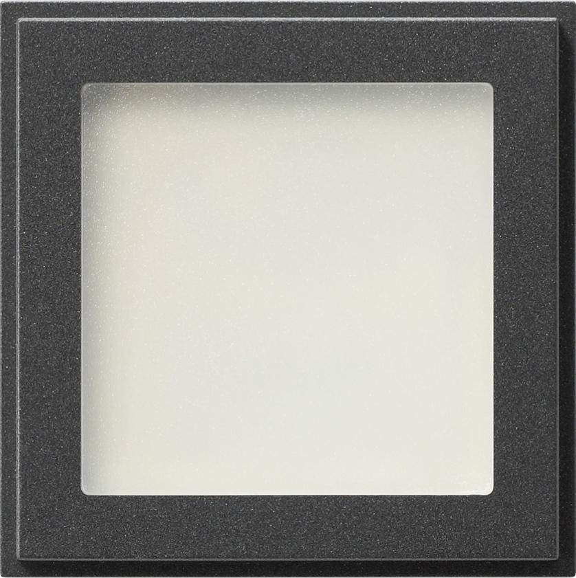 gira 116167 led orientierungsleuchte mit wei er led beleuchtung anthrazit online kaufen im. Black Bedroom Furniture Sets. Home Design Ideas