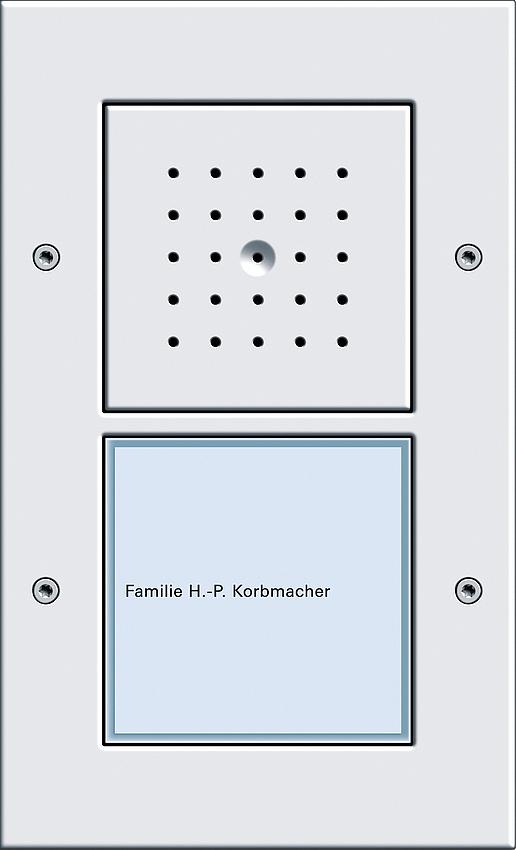 gira 126666 t rstation ap komplett mit t rlautsprecher und. Black Bedroom Furniture Sets. Home Design Ideas