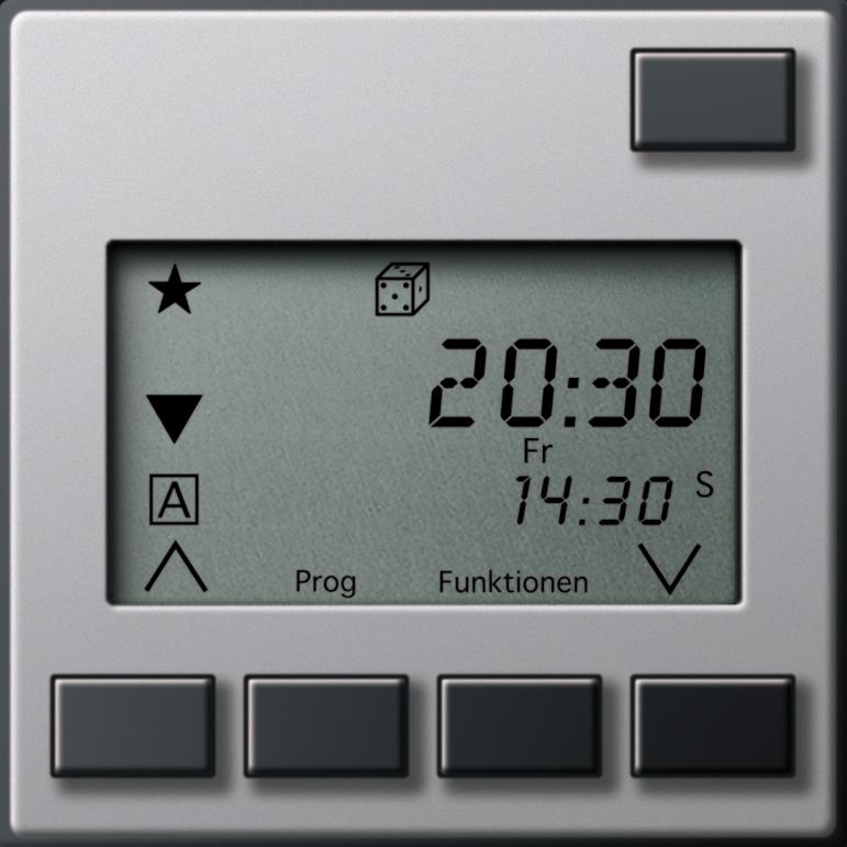 gira 1309203 aufsatz elektronische jalousiesteuerung 2 mit sensorauswertung online kaufen im. Black Bedroom Furniture Sets. Home Design Ideas