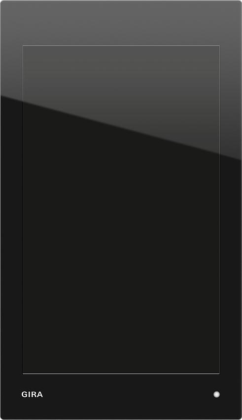 gira 207705 knx g1 24 v anschlussmodul glas schwarz online kaufen im voltus elektro shop. Black Bedroom Furniture Sets. Home Design Ideas