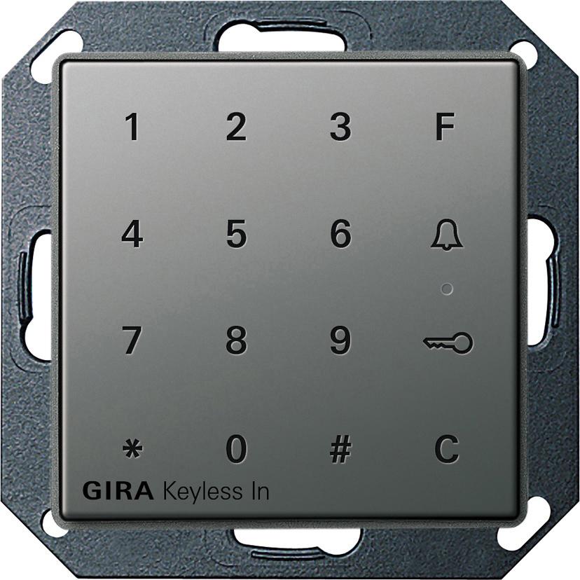 gira 260520 keyless in codetastatur online kaufen im. Black Bedroom Furniture Sets. Home Design Ideas