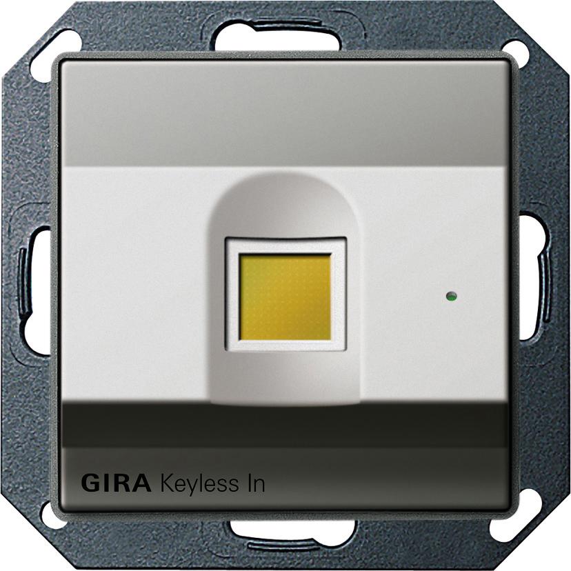 gira 260720 keyless in fingerprint leseeinheit online kaufen im voltus elektro shop. Black Bedroom Furniture Sets. Home Design Ideas