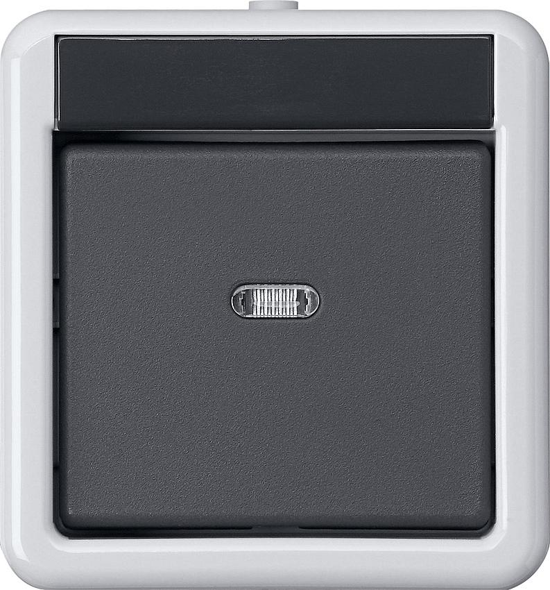 gira 515230 knx taster busankoppler ap wg 1 fach mit zweipunktbedienung online kaufen im voltus. Black Bedroom Furniture Sets. Home Design Ideas