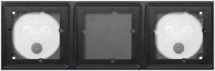 gira 5503902 aufputzgeh use system 106 verkehrswei lackiert 3 fach online kaufen im voltus. Black Bedroom Furniture Sets. Home Design Ideas