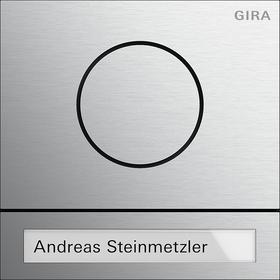 gira 5565926 t rstationsmodul system 106 aluminium online kaufen im voltus elektro shop. Black Bedroom Furniture Sets. Home Design Ideas