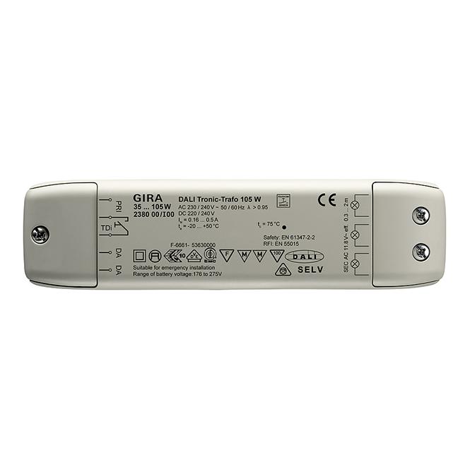 GIRA 238000 DALI Tronic-Trafo 35 - 105 W online kaufen im ...