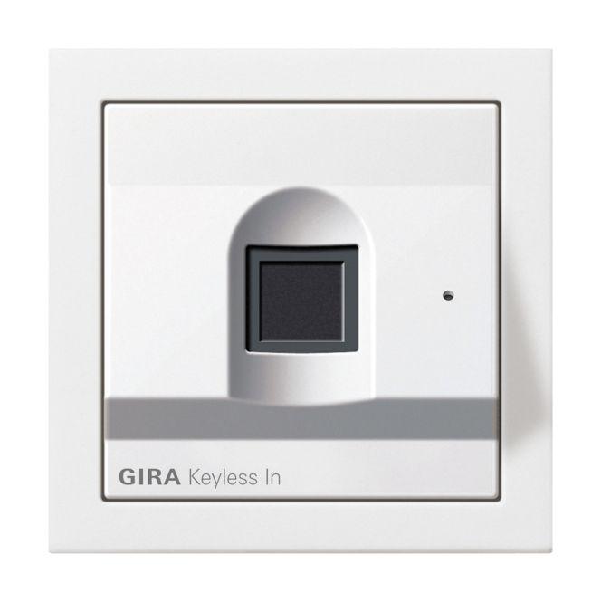 gira 2617112 keyless in fingerprint leseeinheit online. Black Bedroom Furniture Sets. Home Design Ideas