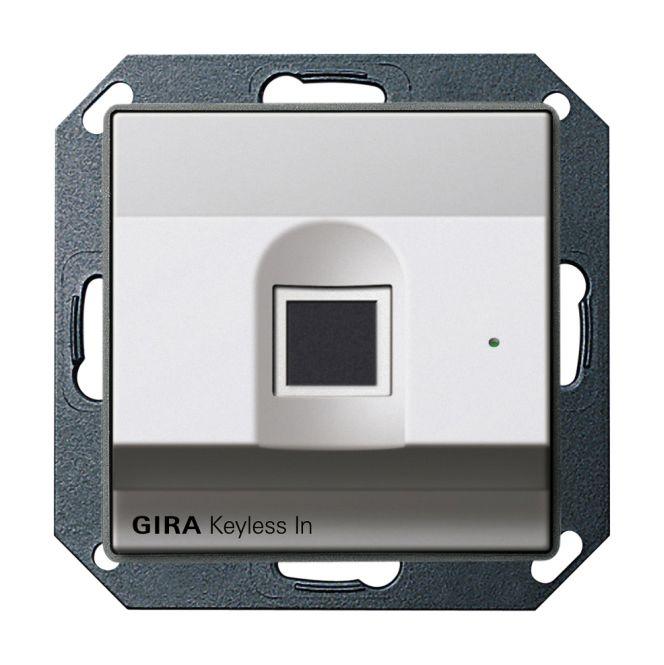 gira 2617203 keyless in fingerprint leseeinheit online. Black Bedroom Furniture Sets. Home Design Ideas
