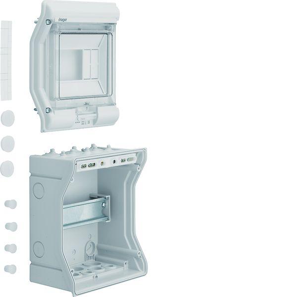 hager ve106d ap kleinverteiler ip65 vector 6platzeinheiten online kaufen im voltus elektro shop. Black Bedroom Furniture Sets. Home Design Ideas