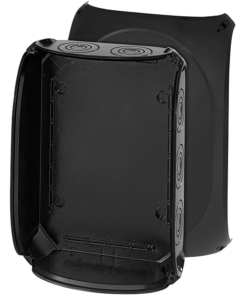 hensel kf 5000 b kabelabzweigkasten bis 50mm ohne klemmen schwarz online kaufen im voltus. Black Bedroom Furniture Sets. Home Design Ideas
